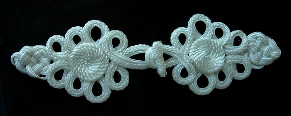 MR20 Macrame Cord Loopy Fastener Knots Buckle Ornament Art